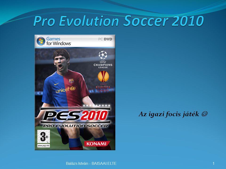 Bemutató A Pro Evolution Soccer 2010-el a japán fejlesztők megpróbálják minden tekintetben kielégíteni a rajongók igényeit, ugyanis – ellentétben az előző résszel -- ezúttal elmaradnak a nagy változtatások, inkább csak csiszolnak a játékmeneten és a grafikán.