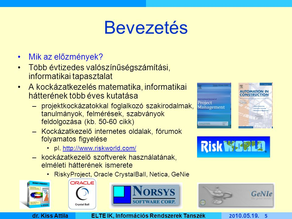 Master Informatique 20 10.05. 19. 6 dr.