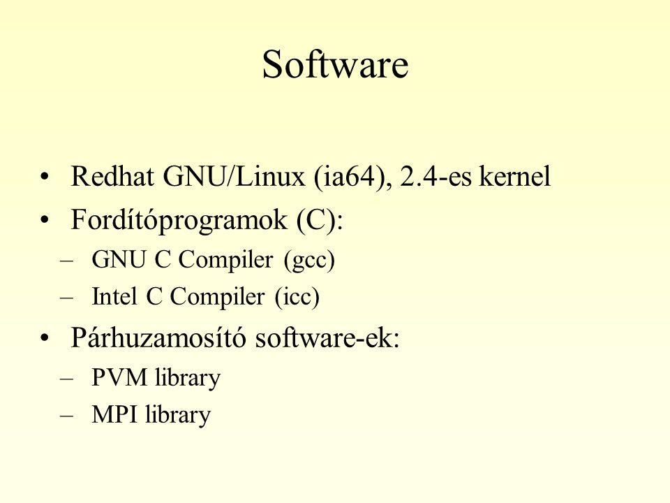 Fordítóprogramok Kezdetben mind gcc-vel, mind icc-vel kipróbáltuk a programot Később, az optimalizáláskor az icc 2x-3x gyorsabb kódot tudott előállítani