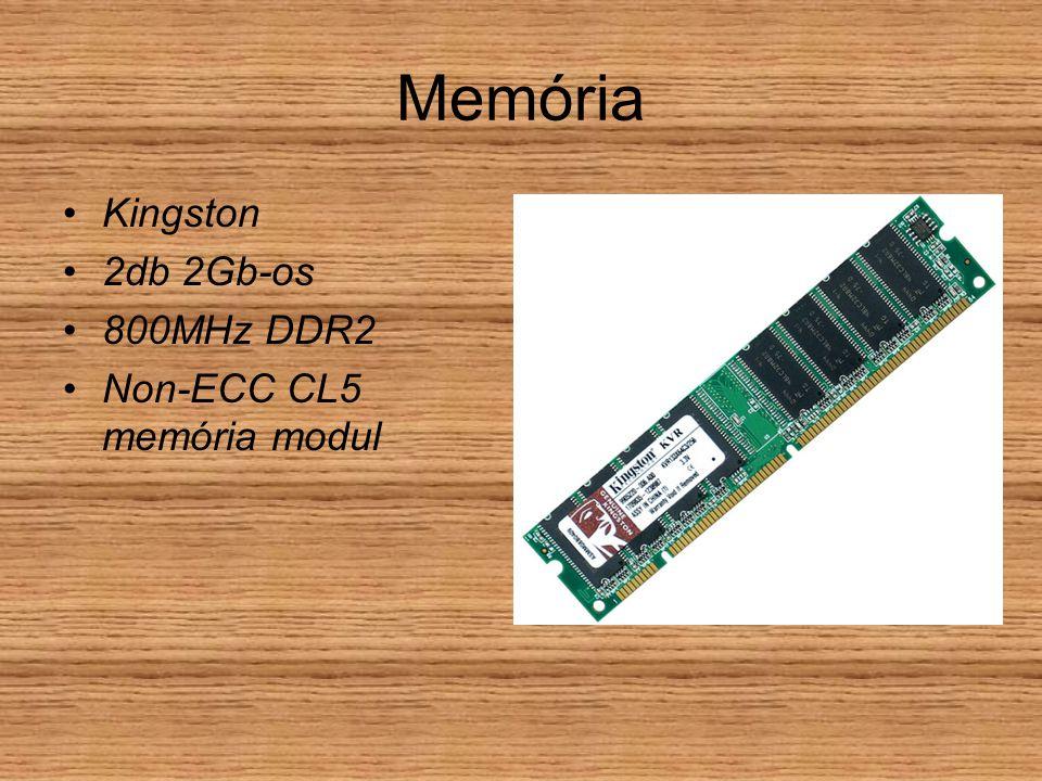 Memória Kingston 2db 2Gb-os 800MHz DDR2 Non-ECC CL5 memória modul
