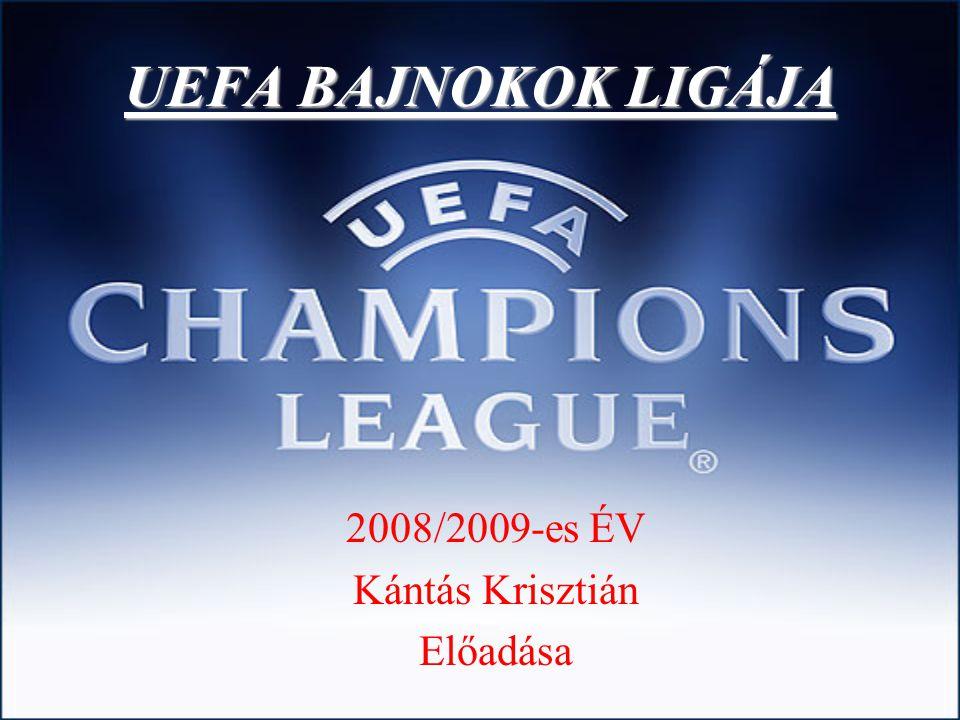 UEFA BAJNOKOK LIGÁJA 2008/2009-es ÉV Kántás Krisztián Előadása