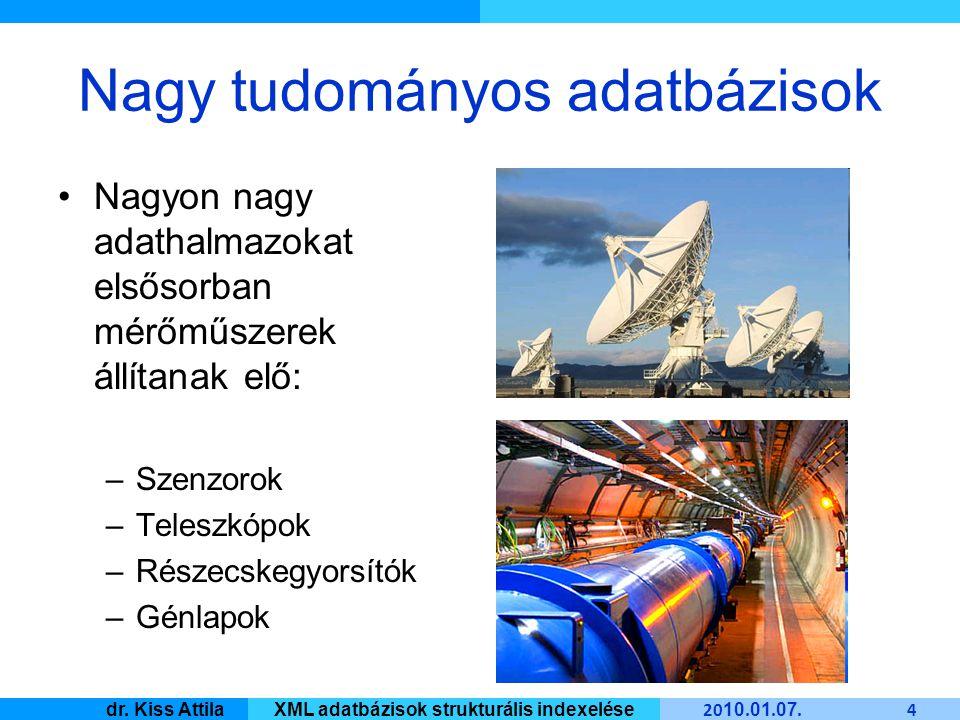 Master Informatique 20 10.01. 07. 55 dr. Kiss AttilaXML adatbázisok strukturális indexelése 2.