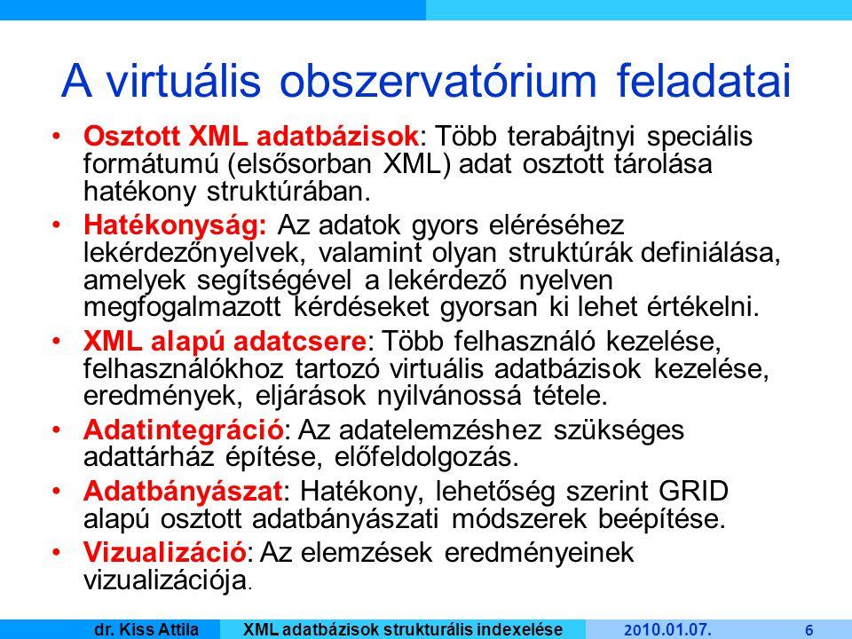 Master Informatique 20 10.01. 07. 17 dr.
