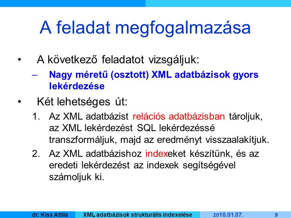 Master Informatique 20 10.01. 07. 20 dr.