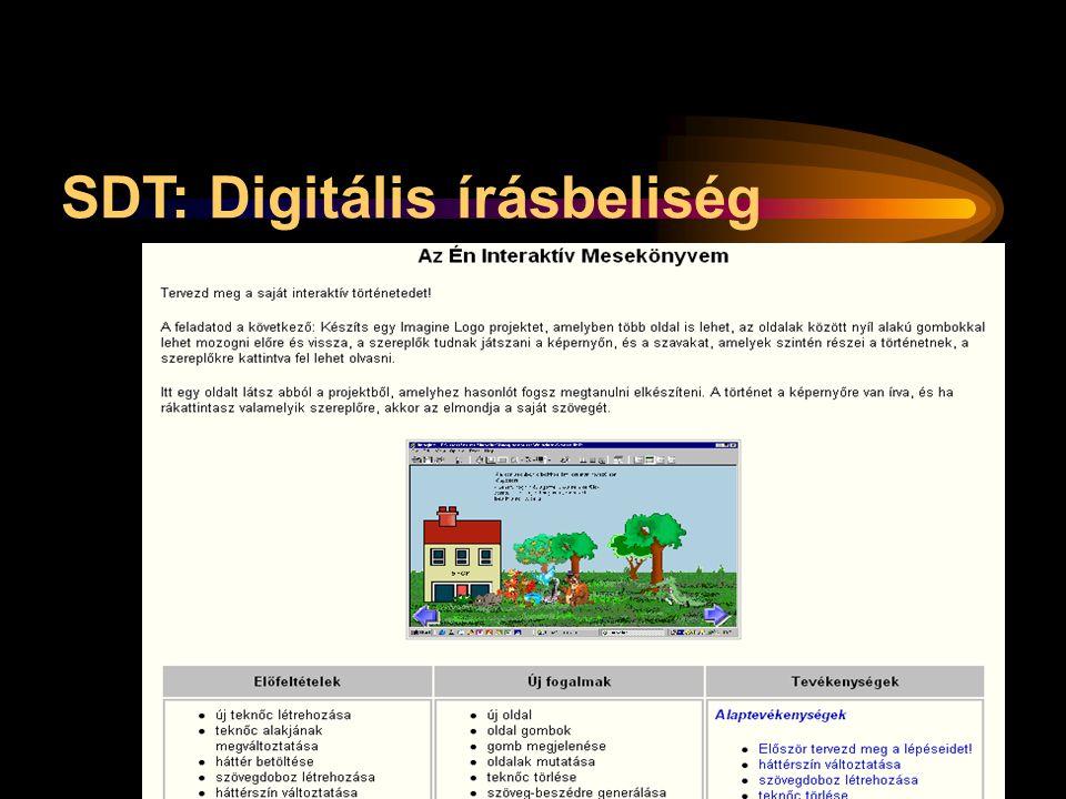 SDT: Digitális írásbeliség