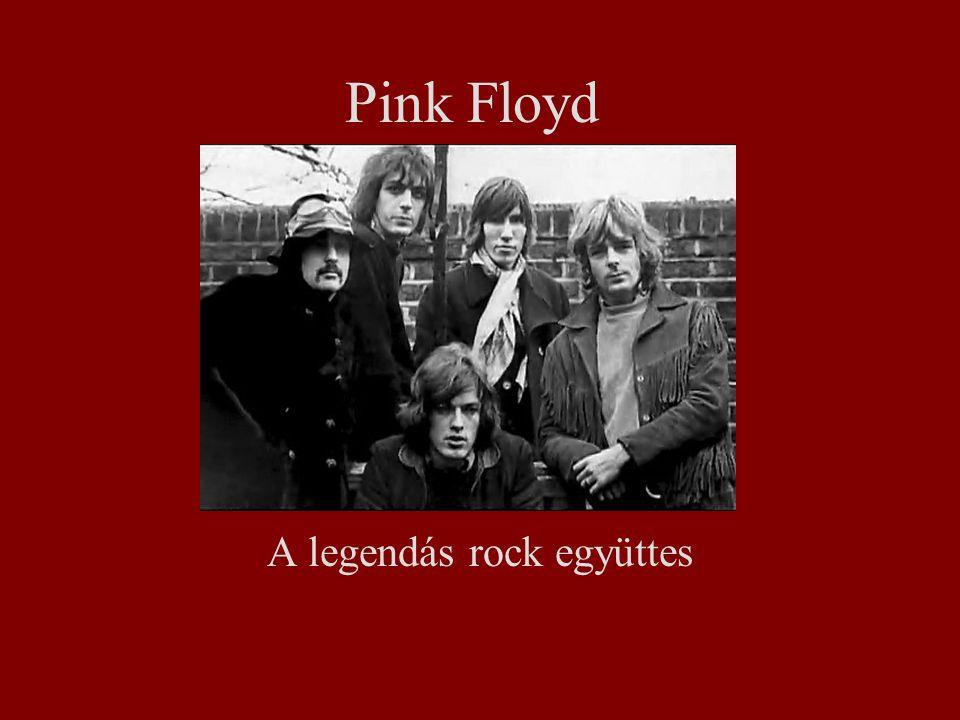 Pink Floyd A legendás rock együttes