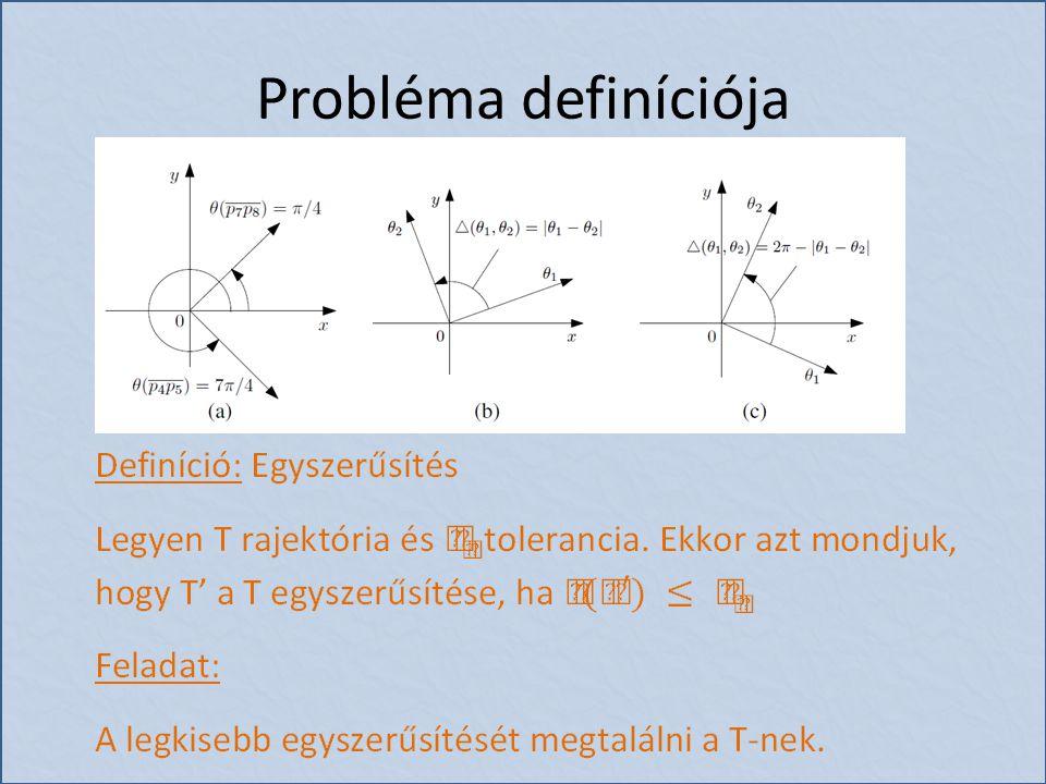 Probléma definíciója