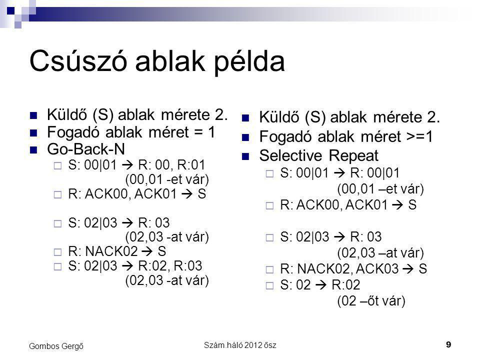Szám.háló 2012 ősz20 Gombos Gergő Gyakorló feladat 6.
