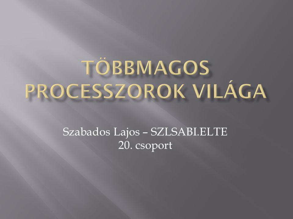 Szabados Lajos – SZLSABI.ELTE 20. csoport