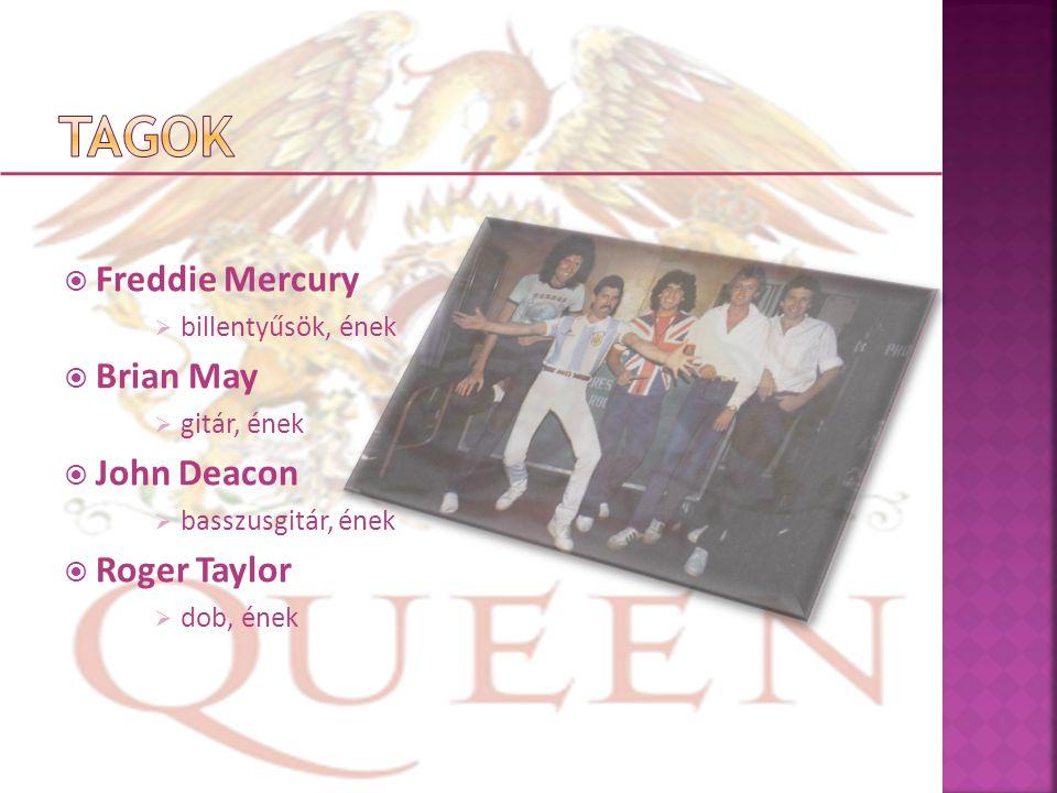  Freddie Mercury  billentyűsök, ének  Brian May  gitár, ének  John Deacon  basszusgitár, ének  Roger Taylor  dob, ének