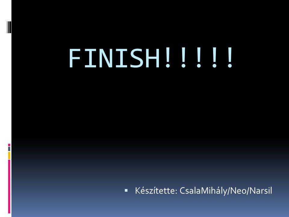 FINISH!!!!!  Készítette: CsalaMihály/Neo/Narsil
