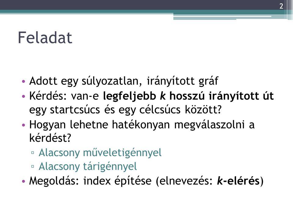 Alkalmazás adatbázisokban Gráf szerkezetű adatbázisok (pl.