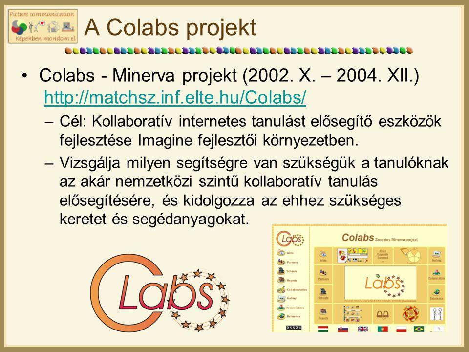 A Colabs projekt Colabs - Minerva projekt (2002.X.