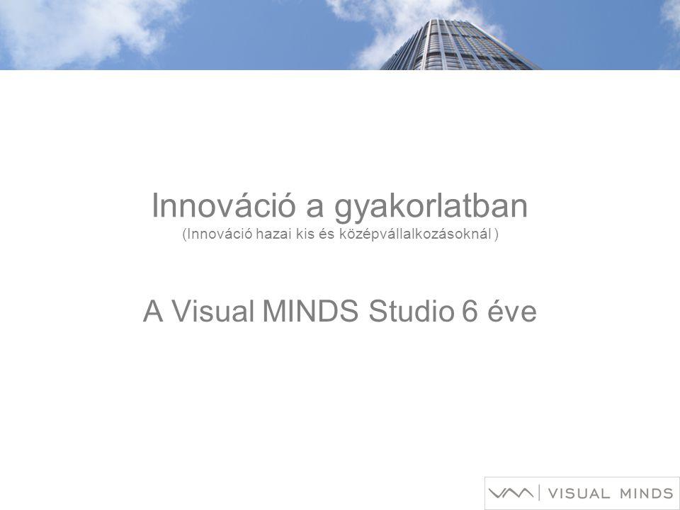 Innováció a gyakorlatban (Innováció hazai kis és középvállalkozásoknál ) A Visual MINDS Studio 6 éve