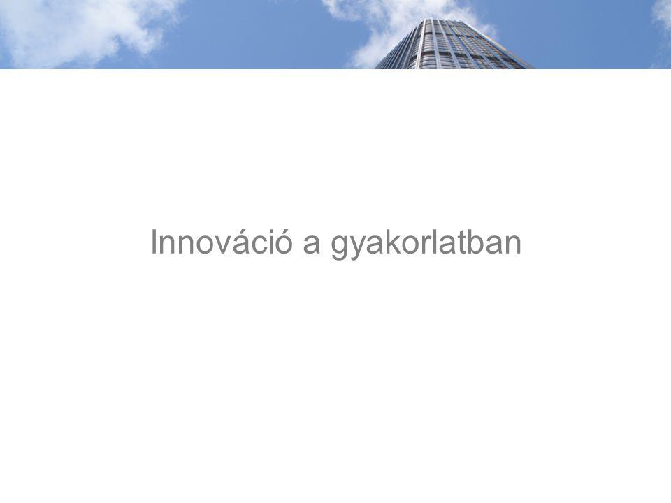 Innováció a gyakorlatban