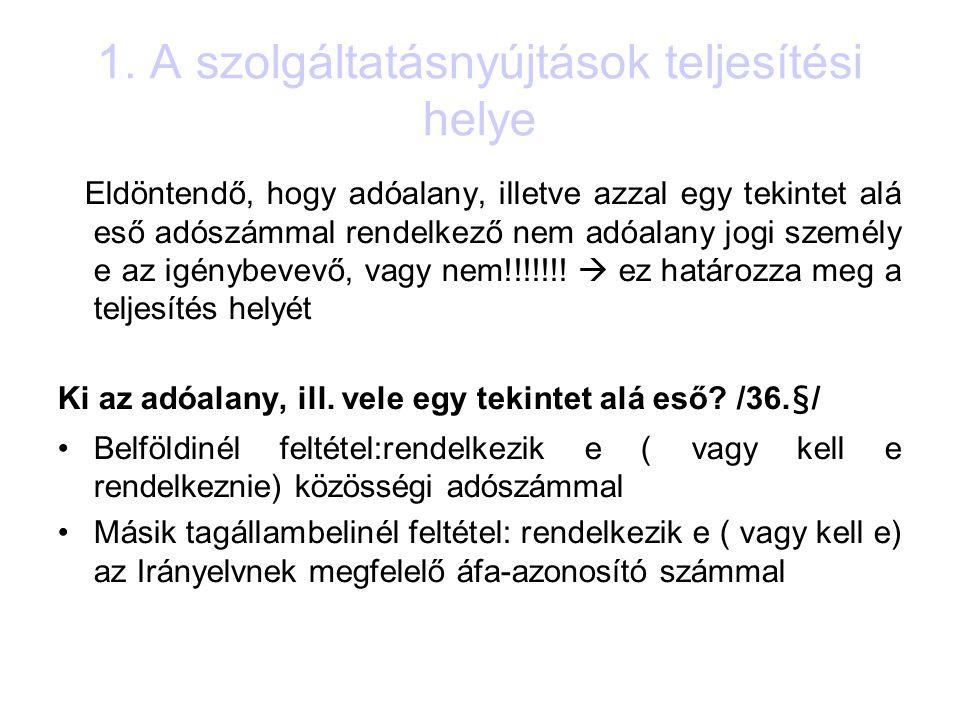 4.Külföldi adóalanyok ÁFA visszatérítése 3.