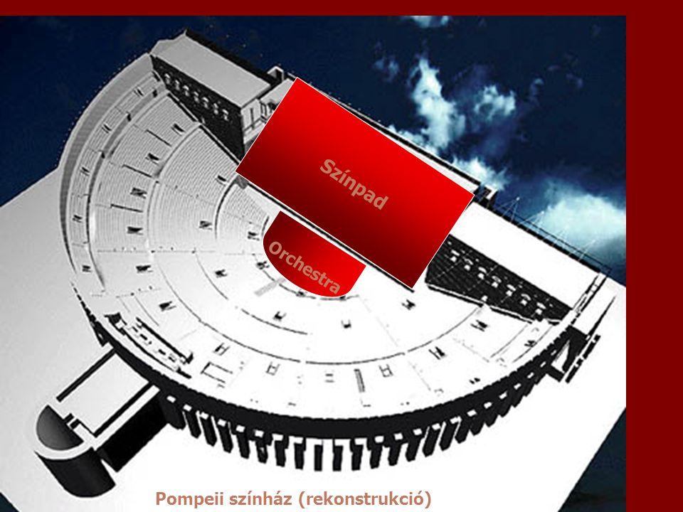 Orchestra Pompeii színház (rekonstrukció)