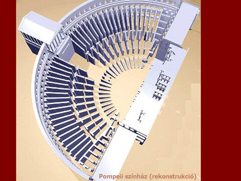 pompei Pompeii színház (rekonstrukció)