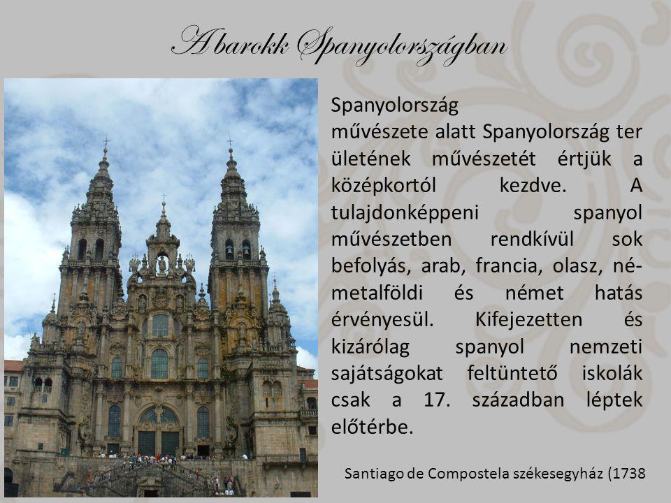 A barokk Spanyolországban Spanyolország művészete alatt Spanyolország ter ületének művészetét értjük a középkortól kezdve.
