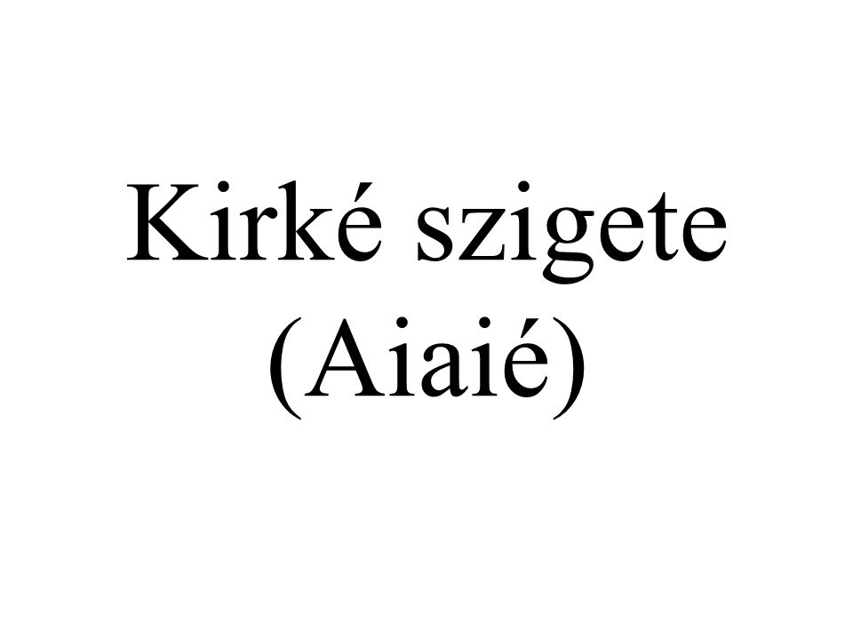 Kirké szigete (Aiaié)