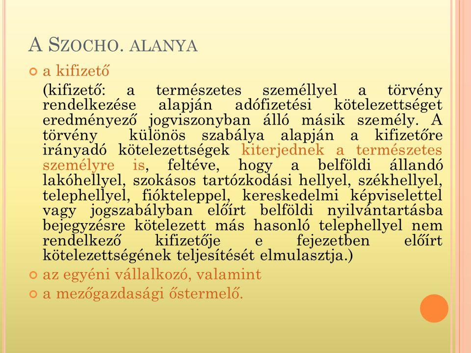 A S ZOCHO.