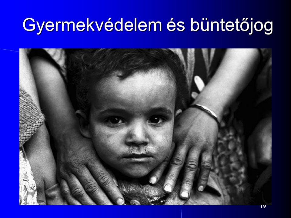 19 Gyermekvédelem és büntetőjog