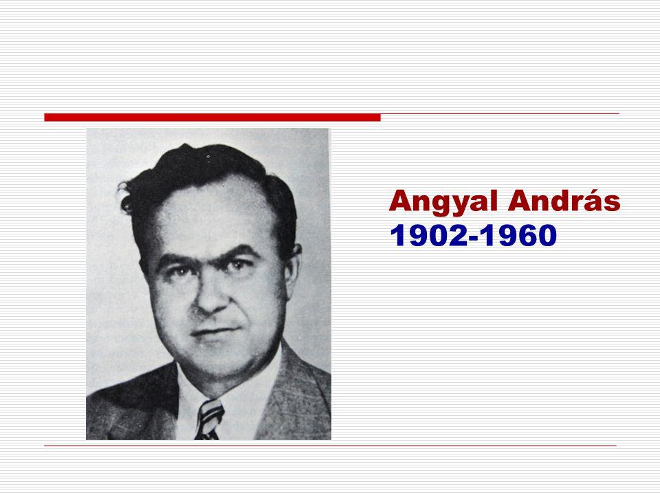 Angyal András 1902-1960