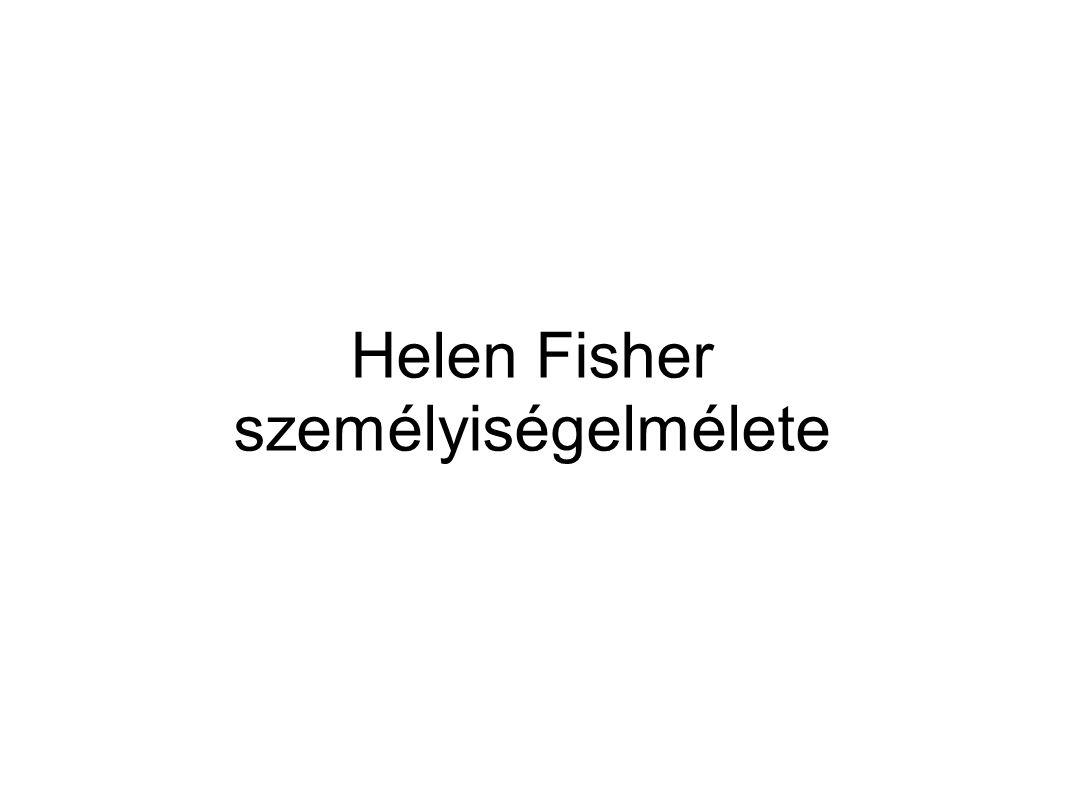 Helen Fisher Kanadai-amerikai Antropológus doktor 30 éve azt kutatja, hogy az emberek miért vagy miért nem vonzódnak egymáshoz biológiai kutatásokat végez, erre alapszik személyiségelmélete is.