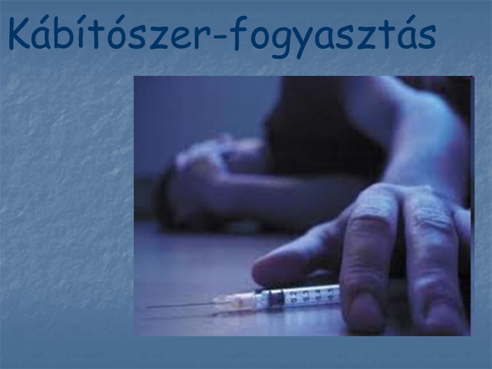 Kábítószer-fogyasztás