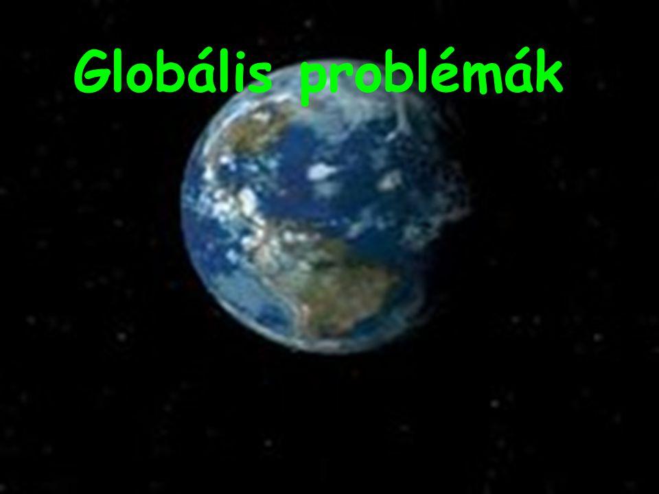 Századunk emberének számos globális és lokális problémával kell szembenéznie, melyeket sajnos mi magunk idéztünk elő…