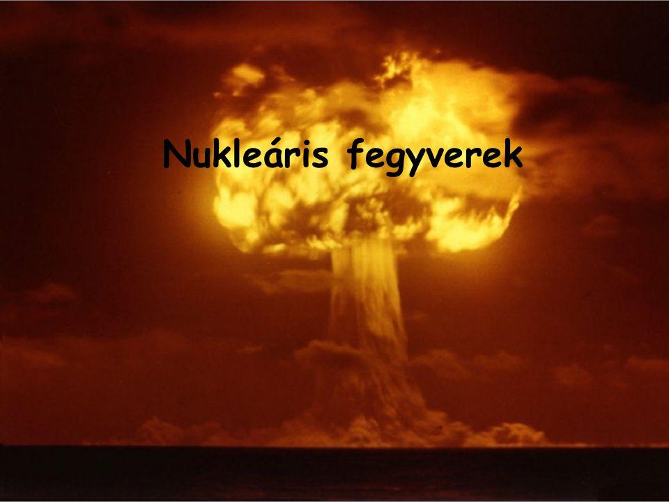 Nukleáris fegyverek