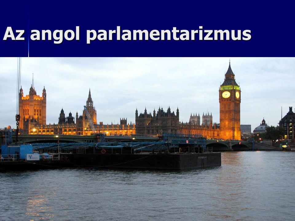 Az angol parlamentarizmus
