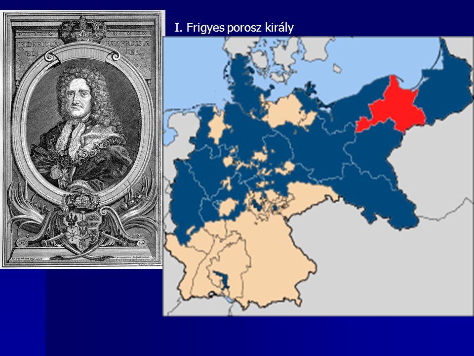 I. Frigyes porosz király