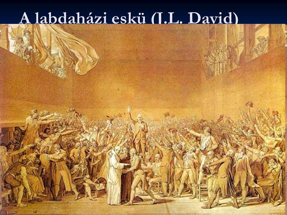 A labdaházi eskü (J.L. David)