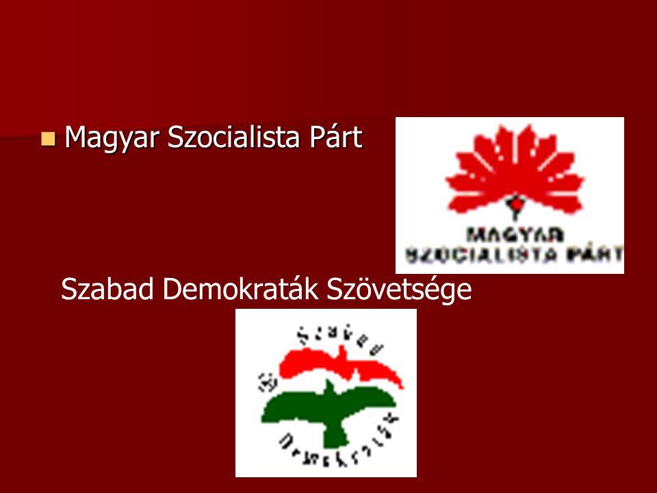 Magyar Szocialista Párt Magyar Szocialista Párt Szabad Demokraták Szövetsége