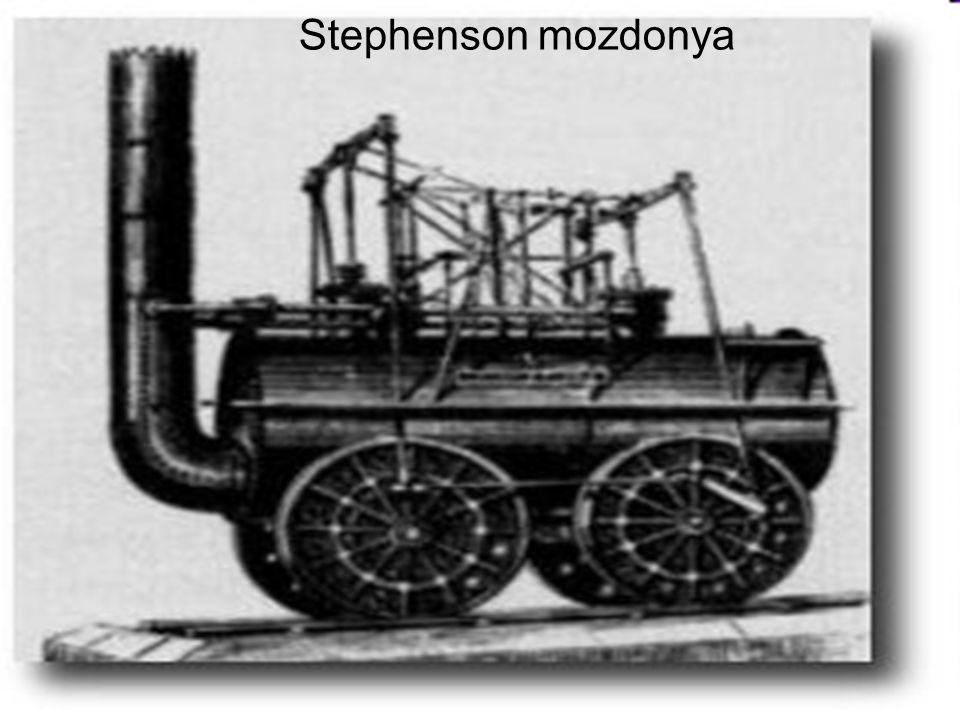 Stephenson mozdonya