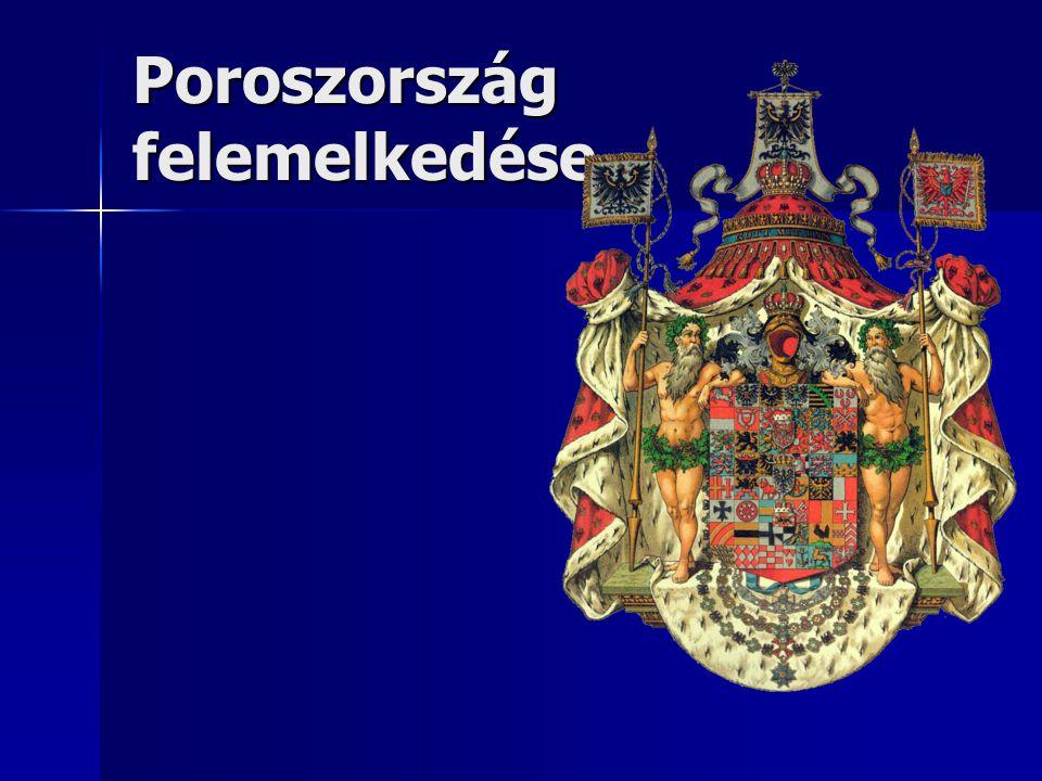 Poroszország felemelkedése
