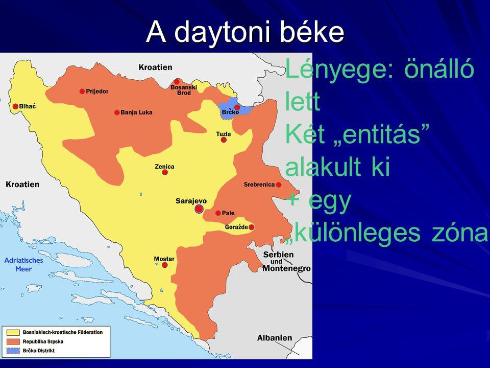"""A daytoni béke Lényege: önálló lett Két """"entitás alakult ki + egy """"különleges zóna"""