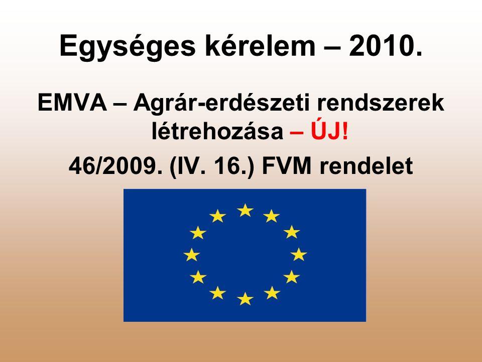 EMVA – Agrár-erdészeti rendszerek létrehozása – ÚJ.