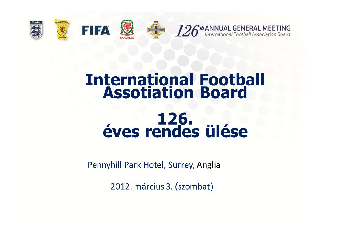 International Football Assotiation Board 126.