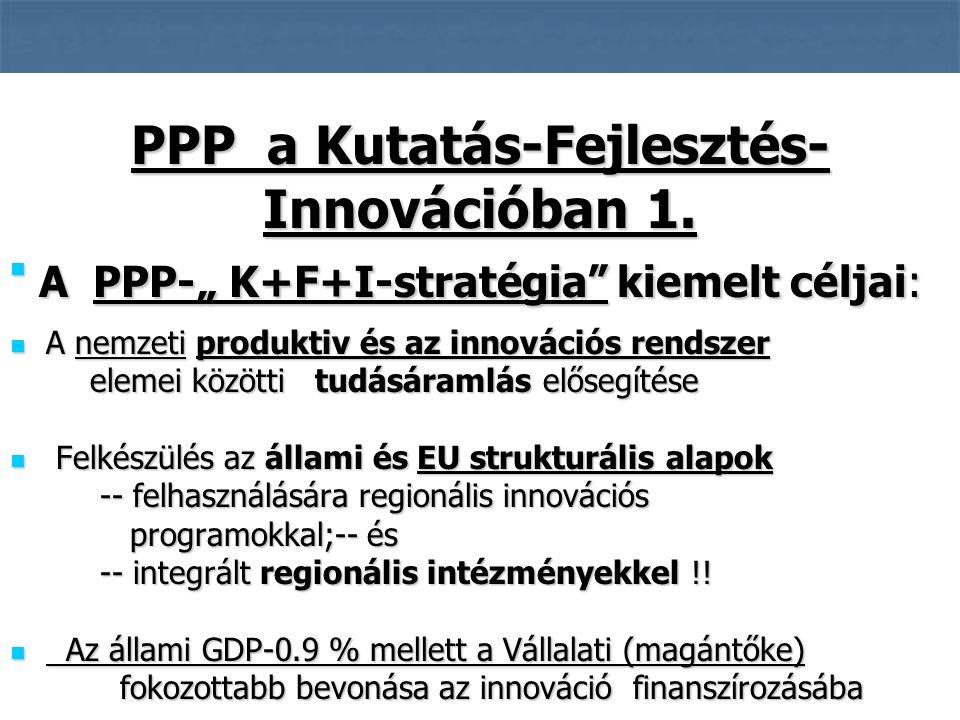4 A nemzeti produktiv és az innovációs rendszer A nemzeti produktiv és az innovációs rendszer elemei közötti tudásáramlás elősegítése elemei közötti tudásáramlás elősegítése Felkészülés az állami és EU strukturális alapok Felkészülés az állami és EU strukturális alapok -- felhasználására regionális innovációs -- felhasználására regionális innovációs programokkal;-- és programokkal;-- és -- integrált regionális intézményekkel !.