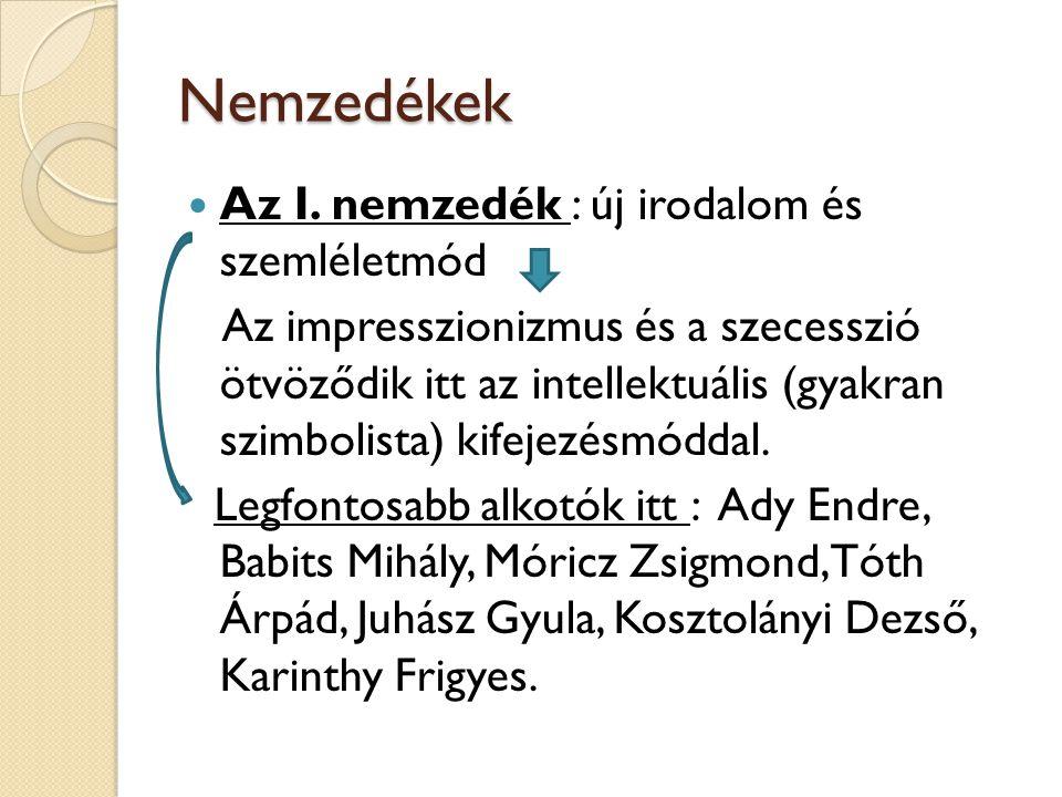 Nemzedékek A II.