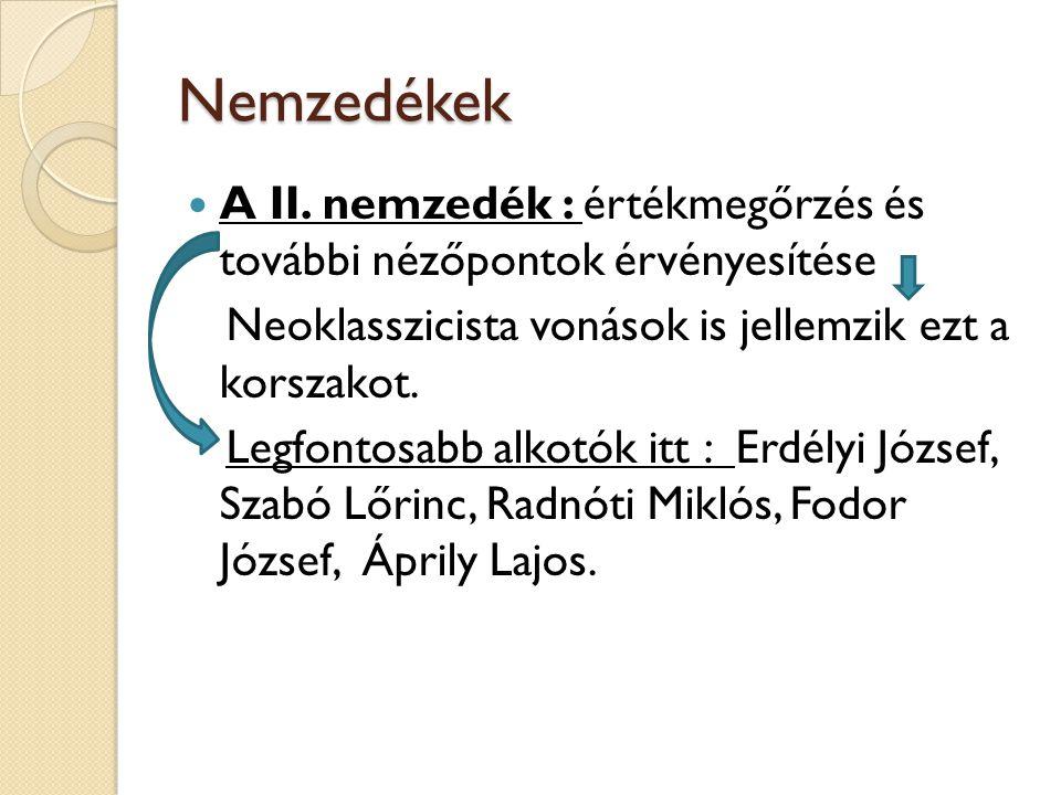 Nemzedékek A III.