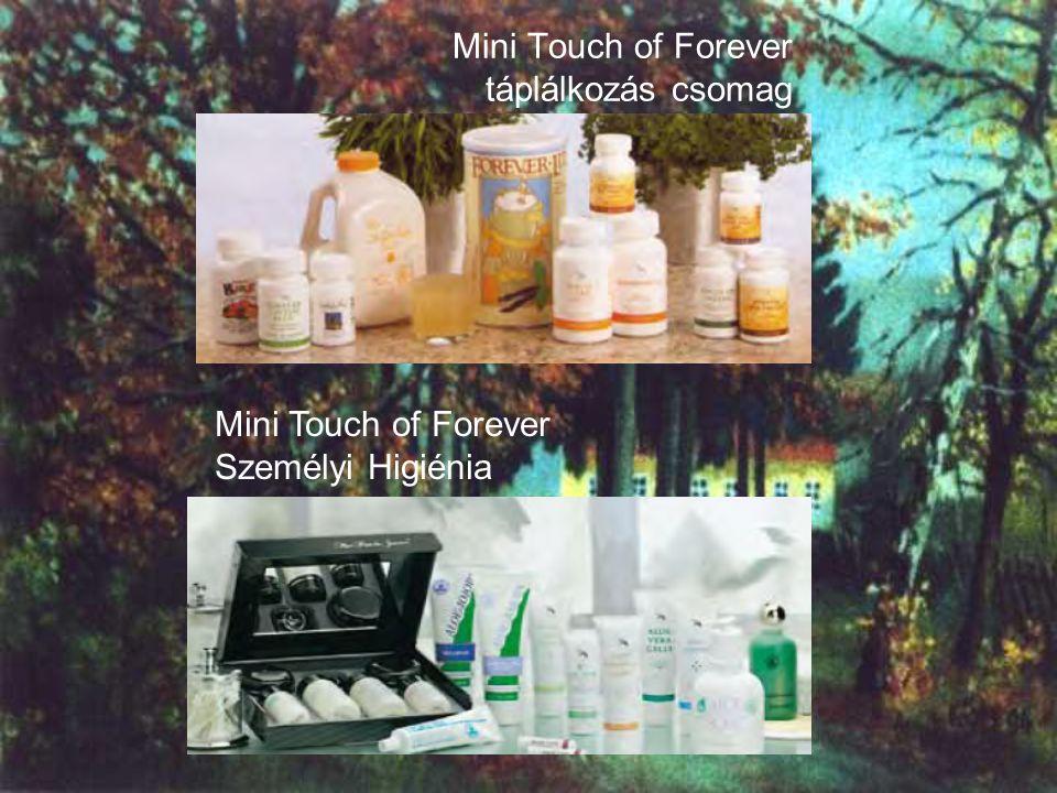 Mini Touch of Forever táplálkozás csomag Mini Touch of Forever Személyi Higiénia