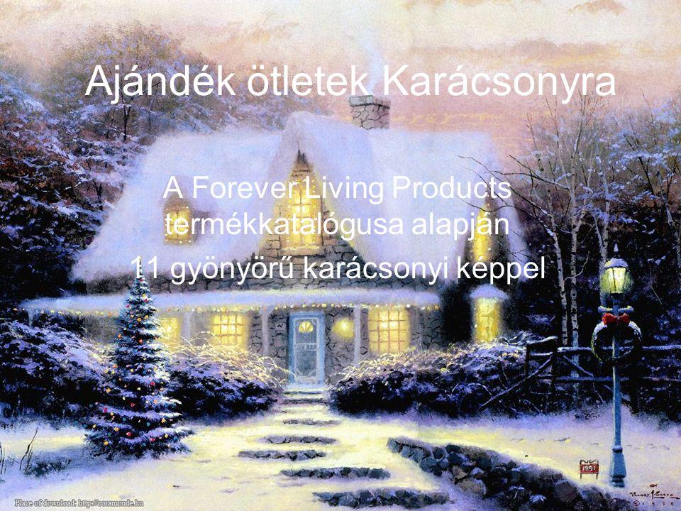 Ajándék ötletek Karácsonyra A Forever Living Products termékkatalógusa alapján 11 gyönyörű karácsonyi képpel