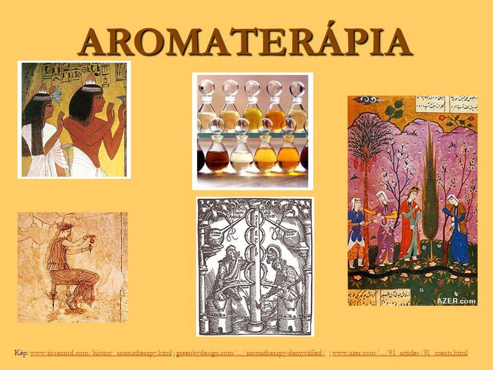 AROMATERÁPIA Kép: www.tisserand.com/history_aromatherapy.html ; greenbydesign.com/.../aromatherapy-demystified/ ; www.azer.com/.../91_articles/91_scen