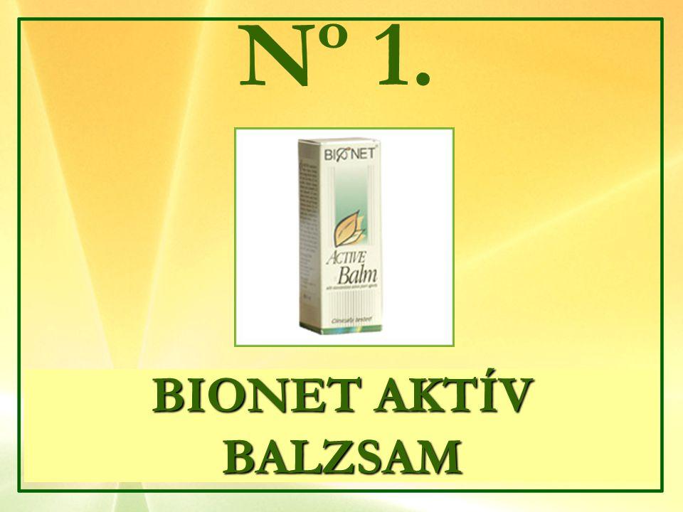 BIONET AKTÍV BALZSAM Nº 1.