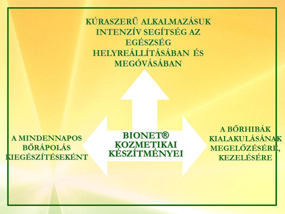 BI  NET GYÓGYKOZMETIKAITERMÉKEI FEJLESZTÉS, GYÁRTÁS: ISO 9001 MINŐSÉGIRÁNYÍTÁSI RENDSZERBEN KOZMETIKÁNTÚLMUTATÓKÉSZÍTMÉNYEK MEGFELEL AZ EURÓPAI UNIÓ ELŐÍRÁSAINAK ELŐÍRÁSAINAK TERMÉSZETES HATÓANYAGOK FELHASZNÁLÁSA, ÁLLATKÍSÉRLETEK NÉLKÜLI FEJLESZTÉS