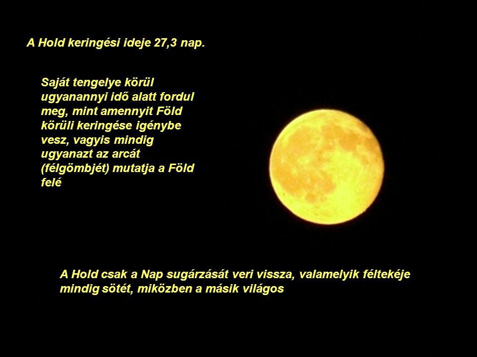 Átmérője 3476 kilométer, hozzávetőleg a Földének negyede. Ezzel a Hold a Naprendszer ötödik legnagyobb holdja Hold Luna a római mitológiában az éjjeli