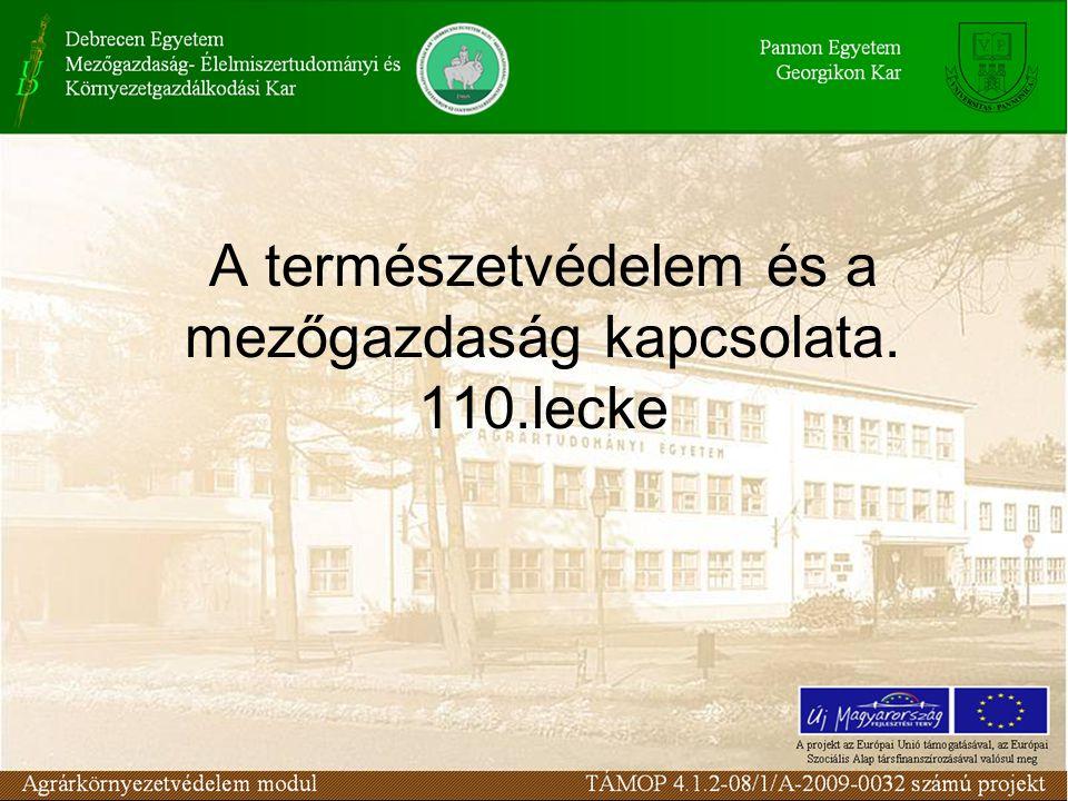 A természet védelmének rendszere a Tvt.alapján I.